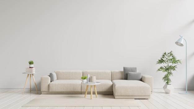 sofa med puf